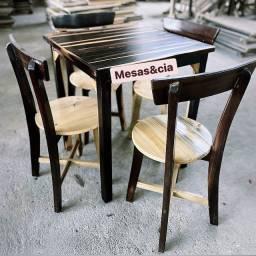 Título do anúncio: Mesa e cadeira top de linha
