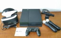 (leia!) PS4 + Óculos VR (completos!). Funcionando perfeitamente! BH pronta entrega