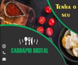 Cardápio e catálogo digital