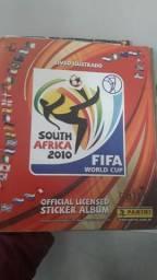 Álbum Copa do Mundo 2010 (leia descrição)