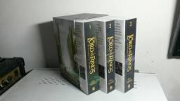 Box Lord of the Rings 3 livros em ingles