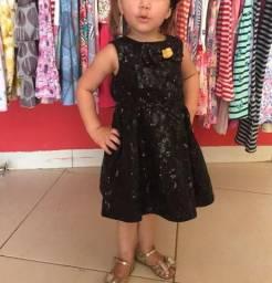 Vestido de festa infantil 02 anos