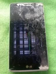 G4 Stylus tela quebrada
