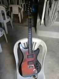 Vendo ou troco está guitarra e esse violão elétrico zap 987045139
