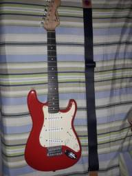 Guitarra Fender Squier Mini + Pedaleira