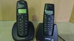 Telefones sem fio Intelbras e Elgin