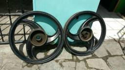 Rodas da titan 150 e rodas de traxx
