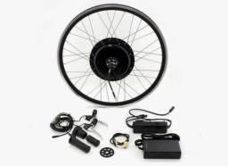 Barbada Kit elétrico bike de 500w 36v acompanha aro 26 e 4baterias