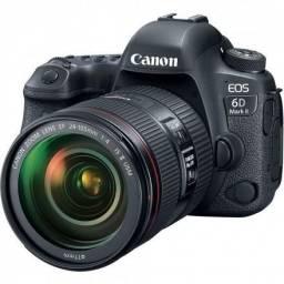 Câmera Canon 6D Mark III kit 24-105mm F/4 is II usm