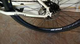 Bicicleta Aro 29 Rharu R1 Branca Quadro 17 21v