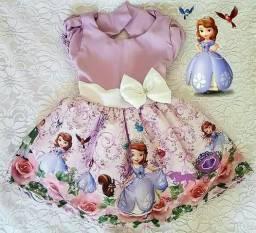 Alguém vendendo vestido da princesa sophia