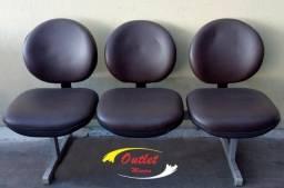 Longarina 3 assentos