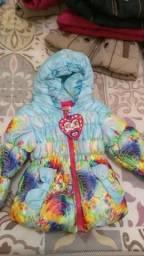 Jaqueta tamanho 1 ano, trouxe de Rivera