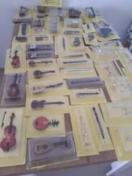 Mini instrumentos musicais
