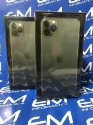 IPhone 11 Pro Max 64GB Black Lacrado! com nota e garantia de 1 ano apple