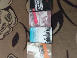 Livros de ADM,Marketing,gestão comercial