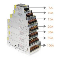 Fonte Chaveada 110/220 12v e 24v Novas LED, CFTV e SOM, usado comprar usado  Campo Grande