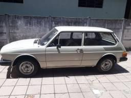 Brasilia 1980 com manual e nota fiscal excelente