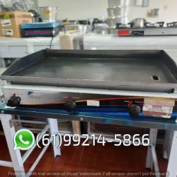 Chapa Bifeteira 85x52cm 4,7mm Industrial a gás Fundiferro