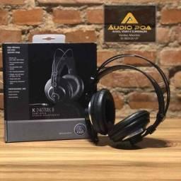 Fone de ouvido Akg Modelo K240 MKII