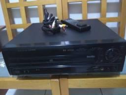 Laser Disc e Laser Karaokê Pionner Modelo CLD-D504