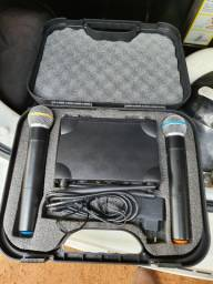 Microfone Sem fio LYCO UH-02MM (PAR)