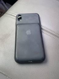 Capa carregadora iphone xs max original aplle