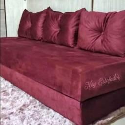 Sofá cama novo da fábrica