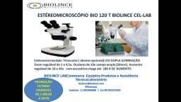 Microscópios e Estereoscópio