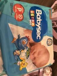 Fralda baby sec P comprar usado  Rio de Janeiro