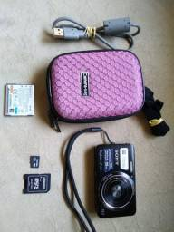 Câmera Sony W630 - 16.1mp Zoom Ótico 5x - Filma HD 720p