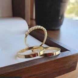 Aliança e anel