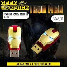 Pen Drive Homem de Ferro (Iron Man) 32Gb