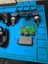 Manutenção PS4 Video Game e Controles