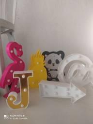 Kit com 6 luminárias decorativas