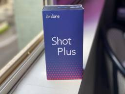 Asus Zenfone Shot Plus 128gb, 4gb RAM, Zero, NF + Garantia, Câmera Tripla, Dual Sim, Preto