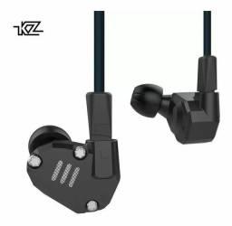 Fone De Ouvido Kz Zs6 Hifi Monitor Retorno Palco 8 Drivers<br><br>