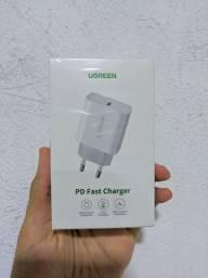 Carregador PD ugreen de 20w , compatível com iPhone 8 em diante / FRETE GRÁTIS