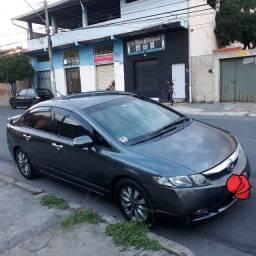Honda Civic 2009 automatica completo vend troco financio zap *