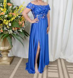 Vestido para festa Azul