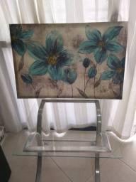 Kit mesa de centro ou canto e linda tela decorativa!