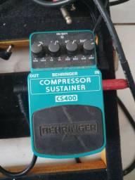 Compressor/sustainer behringer