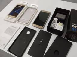 Samsung Galaxy S7 Flat 4GB RAM 32GB Com Garantia Da Samsung<br><br>Nota Fiscal