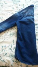 Camisa Jeans semi nova