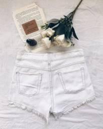Short Jeans Branco