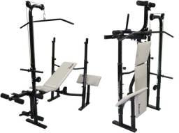 Estação Musculação Banco Supino Sp-3300 Pro Polimet