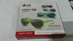 Óculos 3D LG (Novo)