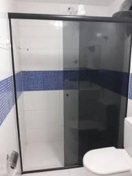 Box de vidro fumê banheiro