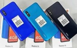 Redmi 9i 128GB Verde/Preto/Azul
