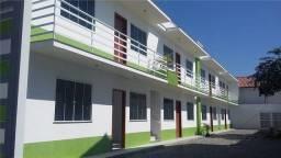 Título do anúncio: Apartamento térreo com área  externa  no bairro Extensão Serramar em rio das Ostras!!!